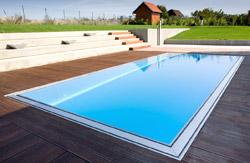 Schwimmbecken aus Polypropylen